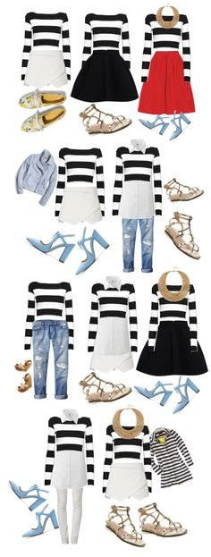 Color Me Courtney - New York City Fashion Blog: What to wear for spring 10 pieces >> 100 outfits !!!!