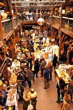 Markt in der Fabrik - Hamburg, Altona Altstadt