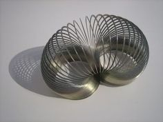 The best toys of the 50's  Send Slinky down the stairs....