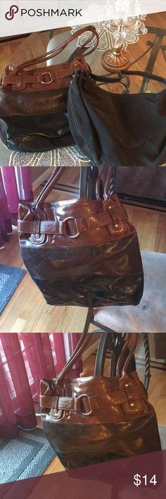 Pair of women's purses Pair of women's purses black one is Ralph Lauren Ralph Lauren Bags Shoulder Bags
