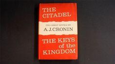 The #Citadel & The Keys of the #Kingdom A.J. Cronin #BookClub Edition http://www.ebay.com/itm/The-Citadel-The-Keys-of-the-Kingdom-A-J-Cronin-Book-Club-Edition-/321835804915?ssPageName=STRK:MESE:IT&utm_content=buffer8f217&utm_medium=social&utm_source=pinterest.com&utm_campaign=buffer #gotvintage