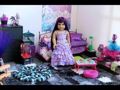 American Girl Doll Disney Descendants Mal's Bedroom!HD! - YouTube