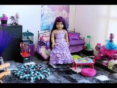 American Girl Doll Grace's Bedroom ~ Watch in HD! - YouTube