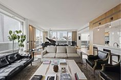Any up-and-coming millionaire could easily get their sexy back in sleek digs like these.
