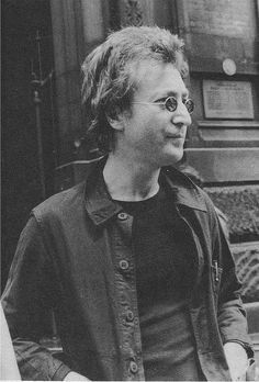 John Lennon (the day after John received his green card for the US in 1976)