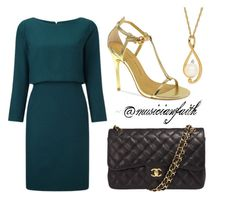 """Business Attire #6"" by musicianfaith on Polyvore featuring Chinese Laundry and Chanel"