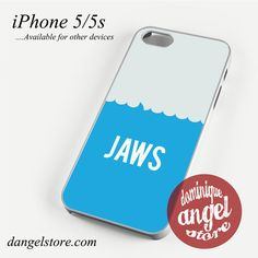 Movie Poster Jaws Phone case for iPhone 4/4s/5/5c/5s/6/6 plus