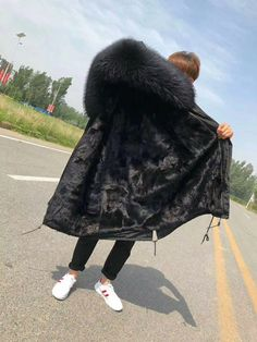 Parka Coat, Fur Coat, Winter Hats, Jackets, Fashion, Down Jackets, Moda, Fashion Styles, Jacket
