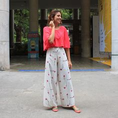 pantalona + cropped