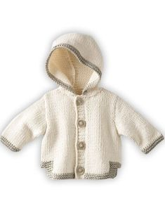 visually result of baby boy vests with hood Baby Cardigan Knitting Pattern, Crochet Baby Cardigan, Hoodie Pattern, Jacket Pattern, Baby Knitting Patterns, Baby Boy Vest, Baby Coat, Knitting For Kids, Sewing For Kids