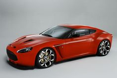 Aston Martin V12 Zagato - one of the prettiest cars I have ever seen.