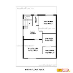 House Plan For  Feet By  Feet Plot Plot Size  Square Yards - House map design 30 x 35