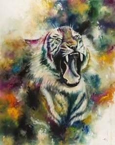 Browse and buy the latest artwork from the artist Katy Jade Dobson. Buy prints and original art by Katy Jade. Tiger Painting, Artist Painting, Painting Prints, Oil Painters, Buy Prints, Wildlife Art, Limited Edition Prints, Animal Paintings, Contemporary Artists
