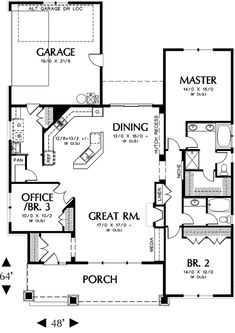 If you are going to build a barndominium, you need to design it first. And these finest barndominium floor plans are terrific concepts to begin with. Jump this is a popular article Custom Barndominium Floor Plans Pole Barn Homes Awesome. Craftsman Style House Plans, Dream House Plans, Small House Plans, My Dream Home, Craftsman Ranch, 2 Bedroom House Plans, Craftsman Homes, Building Plans, Building A House
