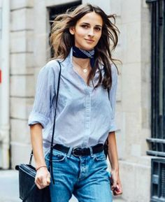 50 Summer Outfit Ideas From the Street Style Elite - Since you likely find the brilliant outfits of stylish civilian. French Fashion, Look Fashion, Fashion Outfits, Womens Fashion, Fashion Trends, Street Fashion, Fashion Bloggers, Chic Outfits, Fall Fashion