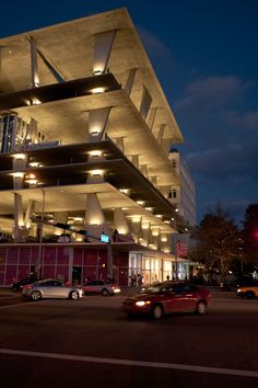 This is the coolest parking garage you'll ever see.  Of course it's in Miami.