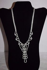 Women's Necklace Cubic Zirconia Metal Chain Pendant Prom