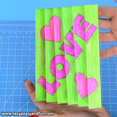 Love is in the air so let's spread it with this adorable Valentine's Day Agamograph Template (printable PDF included). This paper craft is super popular with kids. day ideas videos Valentines Day Agamograph Template Craft for Kids Valentine's Day Crafts For Kids, Craft Day, Fathers Day Crafts, Valentine Day Crafts, Art For Kids, Kids Valentines, Family Crafts, Creative Crafts, Fun Crafts
