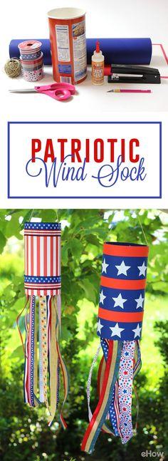 memorial day windsock craft