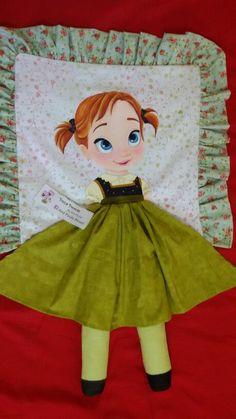 Almofada Anna - Frozen