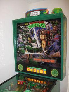 Teenage Mutant Ninja Turtles Pinball Machine Data East