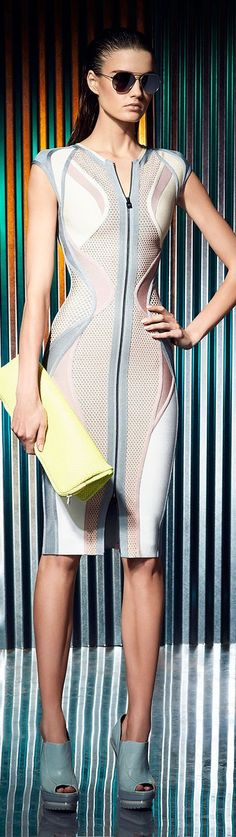 Travel Ready Resort Wear| Serafini Amelia| Hervé Léger by Max Azria Resort 2014