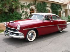 Hudson Hornet was produced by Hudson Motor Company between 1951 and 1954. The Hornet was also built by AMC [American Motor Corporation] between 1955-1957.