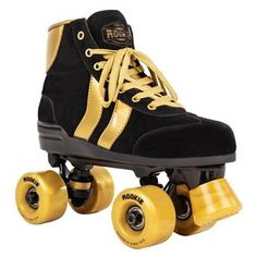 Patin complet Roller Quad  ROOKIE ROLLERSKATES Authentic Black Gold