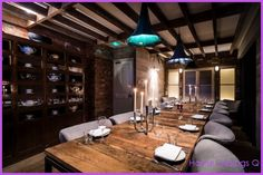 PRIVATE DINING FOR 40 LONDON - http://homedesignq.com/private-dining-40-london.html