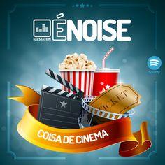 O ÉNoise de hoje é todo especial! Com ele apresentamos a novidade da semana, a hamburgueria mais descolada, que é #CoisaDeCinema agora é cliente da KKi Indústria Criativa. Bem-vinda Wayne's Burger Star!  Solta o play que o dia hoje é dedicado ao cinema. Play na melhor trilha sonora: http://link.kki.com.br/ÉNoiseCoisaDeCinema