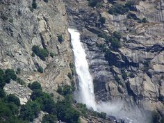 This is a great Yosemite hike. You can hike to Wapama Falls. It is a 5 mile round trip. It is an easy to moderate hike. Start at the O'Shaughnessy Dam Parking lot. The best time to go is April To June.