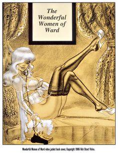 "Билл Уорд | Pin-Up | Bill Ward - The Wonderful Women of Bill Ward - Panel ""Art - Bill Ward""."