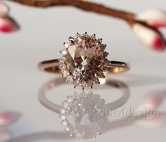 wel e to robmdesign this fancy morganite ring is made of natural
