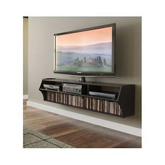 Floating-Tv-Stand-Wall-Unit-Entertainment-Console-Cabinet-Furniture-Shelf-Media