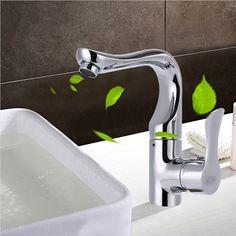 Aliexpress.com : Buy JOOE Modern brass chrome bathroom faucet hot ...