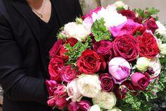 市川バラ園さんのバラを贅沢に使ったラグジュアリーブーケ