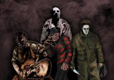 The badasses of horror.