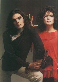 Mickey Finn and Marc Bolan (T. Rex)