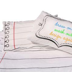 Doodle by Stitch Doodle Pillow Case