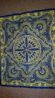 Jacobean Journey quilt in progress   Hoopsisters   Pinterest ... : jacobean quilt - Adamdwight.com