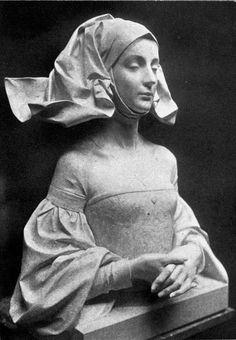 """belgiansculptures: """" Alois De Beule - Une Châtelaine du XVIe siècle, 1908 """" (found in the archives of Regard Intemporel) Sculpture Head, Modelos 3d, Medieval Art, Pablo Picasso, Ceramic Art, Art Inspo, Art Reference, Art Drawings, Fine Art"""