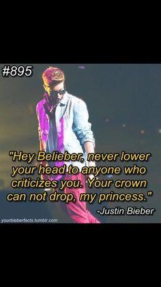 Justin Bieber #30daychallenge --> Day 4: A JB quote ...#lovethis