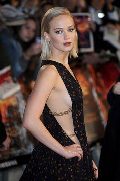 Nobody works a bob quite like Jennifer Lawrence.