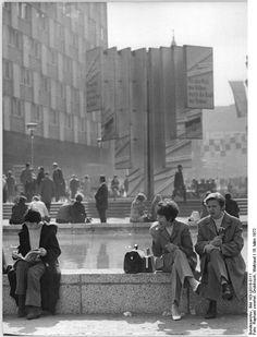 1972 Leipzig - Sachsenplatz (heute: Böttchergäßchen), März 1972 (Bundesarchiv).