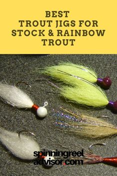 Jigging for trout can be a real treat and is one of my favorite ways to pursue trout. If you happen to live in the . Trout Fishing Rods, Fishing 101, Fishing Rods And Reels, Fly Fishing, Fish Information, Fishing Techniques, Types Of Fish, Rainbow Trout, Fly Tying