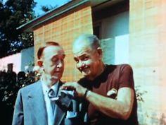 Laurel & Hardy, 1956, last film footage of duo