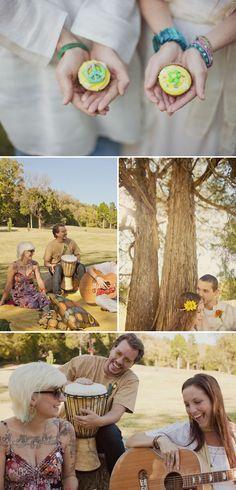 nashville_hippy_wedding_vintage_wedding_6.jpg (650×1352)  ****musical instruments/near tree****