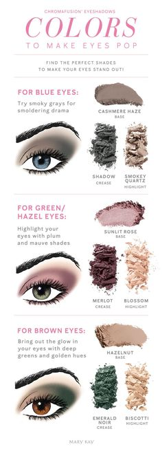 Mary Kay Eyeshadow, Eyeshadow For Blue Eyes, Mary Kay Makeup, Eyeshadow Looks, Eyeshadow Guide, Simple Eyeshadow, Mary Kay Party, Mary Kay Cosmetics, Maquillage Mary Kay