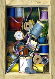 Jorge Alberto, The Sewing Kit. 21st century