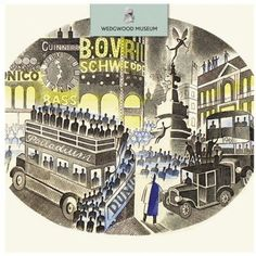 Piccadilly Circus by Eric Ravilious (greeting card stocked by Pentreath and Hall).
